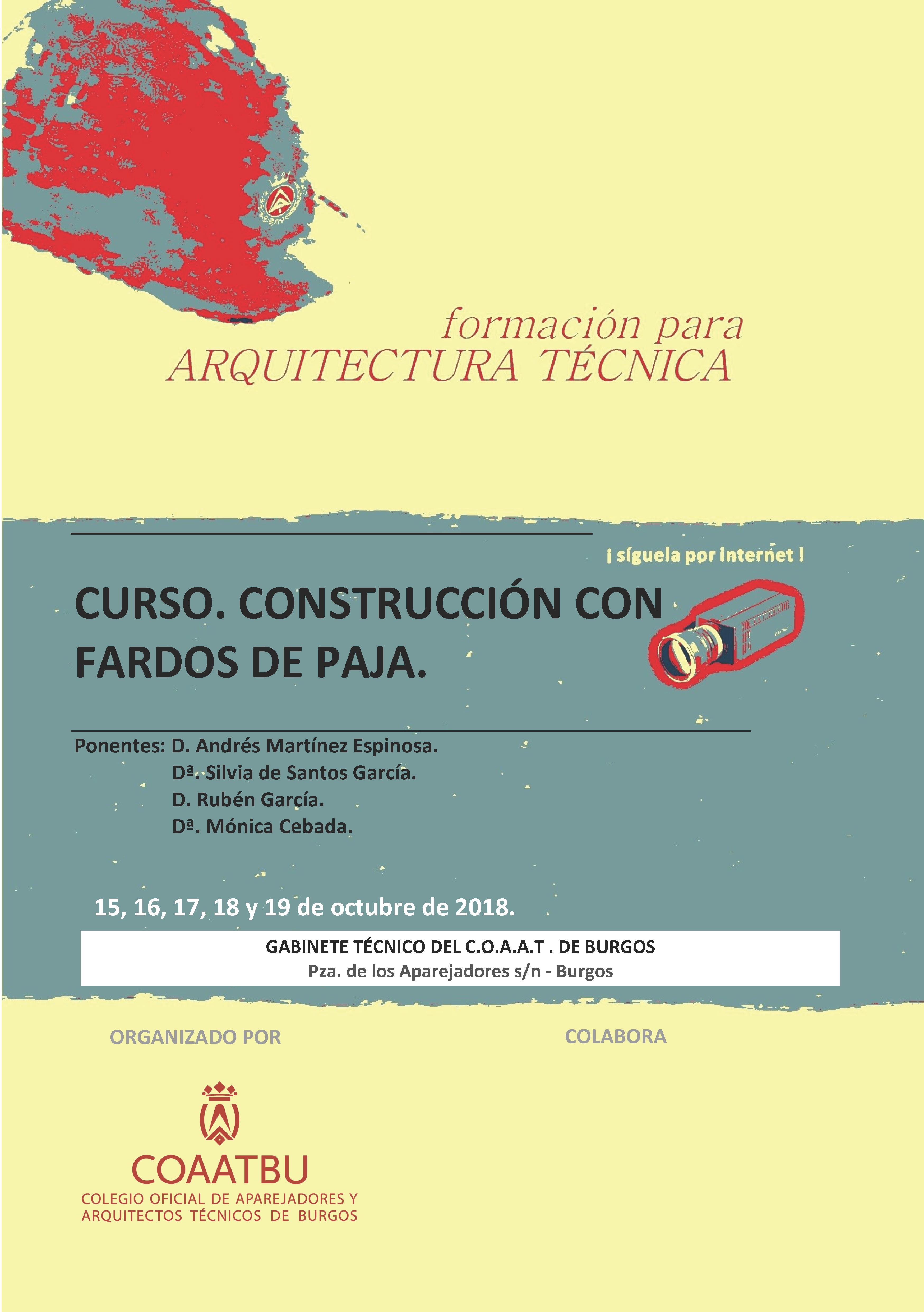 CURSO ONLINE DE CONSTRUCCIÓN CON FARDOS DE PAJA